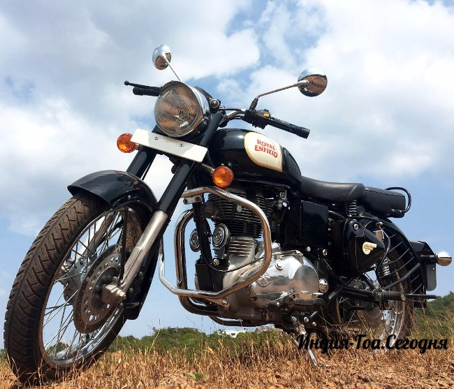 Роял Энфилд Классик 350 кубов аренда в Гоа - прокат Royal Enfield Bullet посуточно